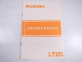 84 Suzuki LT125 Oem Nos Original Driver's Owner's Manuell 1984 Lt 125 - $76.92
