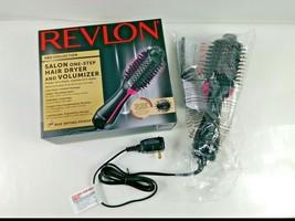 Revlon PRO Collection Salon One Step Hair Dryer and Volumizer Brush Pink/Black - $59.39