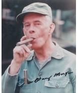 Harry Morgan signed MASH photo. Col Potter. Nice ! ! - $36.95