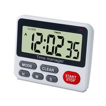 Loskii KC-18 Electronic Digital Kitchen Cooking Timer Magnetic Back Larg... - €38,51 EUR