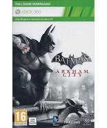 Batman: Arkham City xbox 360 game Full download card code [DIGITAL] /a - $6.44