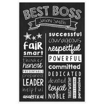 Best Boss Wall Art – Best Boss  Gift -Best Boss Personalized Poster - $15.35+