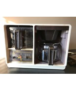 Vintage General Electric Spacemaker 10 Cup Coffee Maker Under Cabinet w/... - $59.95
