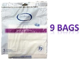 9 Hoover Type S Vacuum Cleaner Bags Futura Spectrum Windtunnel Bag - $8.41
