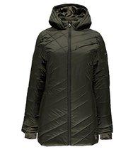 Spyder Women's Siren Long Jacket, Olive, Medium