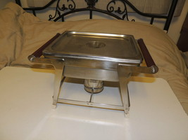 Vintage Vollrath Stainless Steel Chafing Dish Food Warmer Server Mid Cen... - $215.33