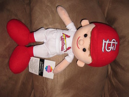 "ST. LOUIS CARDINALS MLB PLAYER PRE-PRODUCTION SAMPLE NEW Plush 14"" RARE ... - $59.99"