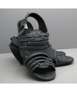 BLOWFISH Malibu  Dk Gray SHOES Woman's 7 Fancy Strappy Sandals Heels  - $19.79