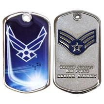 Army Coin: Senior Airman With Plastic Sleeve - $17.80