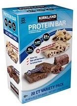 Kirkland | Signature Variety Protein Bars 20 count | 21G Of Protein, 4G Of Carbs