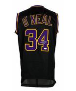 Shaquille O'Neal Signed Custom Black Pro Style Basketball Jersey JSA ITP - $217.79