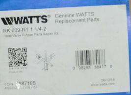 Watts Total Valve Rubber Parts Repair Kit 0887185 RK 009 RT image 7