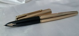 Parker 61 Insignia Fountain Pen Gold Filled Made In USA - $170.27