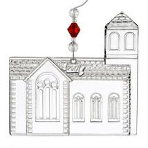 Waterford Crystal 2017 Church Ornament Dimensional Annual Christmas Wedd... - $39.60