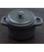 Nice Staub Miniature Porcelain Cooking Pot, Miniature China, VG CONDITION - $5.93