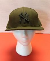 59Fifty Brown New York Yankees Logo MLB Baseball New Era Fitted Hat Cap ... - $22.99