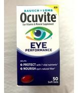 Bausch & Lomb Ocuvite Eye Vitamin & Mineral Performance Supplement 150 S... - $20.00