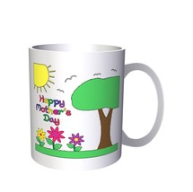 Mothers Day Daughter Love Me Funny  11oz Mug a467 - $10.83