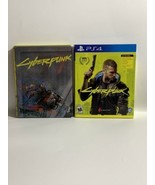 Cyberpunk 2077 Collectors Edition Steelbook + Box CASES ONLY NO Discs In... - $25.00