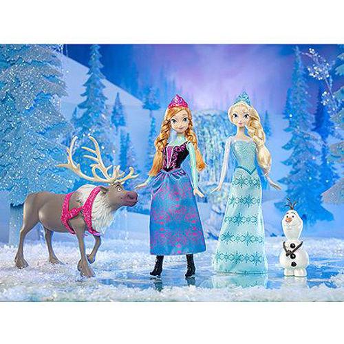 "Disney Frozen Friend Collection Doll Anna Elsa Olaf Sven Exclusive 12"" Figure"