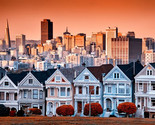 The Painted Ladies Of San Francisco California United States Of America Poster 2