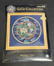 Dimensions Gold Collection Dragonfly Pond Counted Cross Stitch Kit 35167 Sealed - $74.79