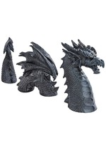 Outdoor Statue Dragon of Falkenberg Castle, 28 Inches Total (a) - $316.80