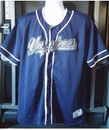True Fan Series Genuine New York Yankees Baseball Shirt Top MLB Mens Sz ... - $27.78