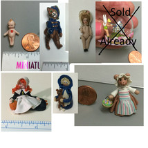 Choice miniature Pat Boldt doll & other small Dolls - $18.99+