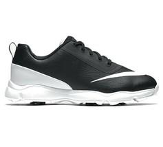 Nike Lunar Control JR Golf Shoes White Black Youth Size 4Y 818734 001 - $44.95