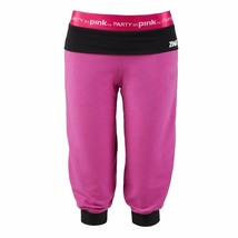 Zumba Women's Fitness Groove For The Cure Logo Stamp Capri Pants A0P00127 - $12.86+