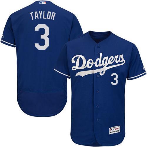 Los Angeles Dodgers Cool Base MLB Custom Blue Jersey