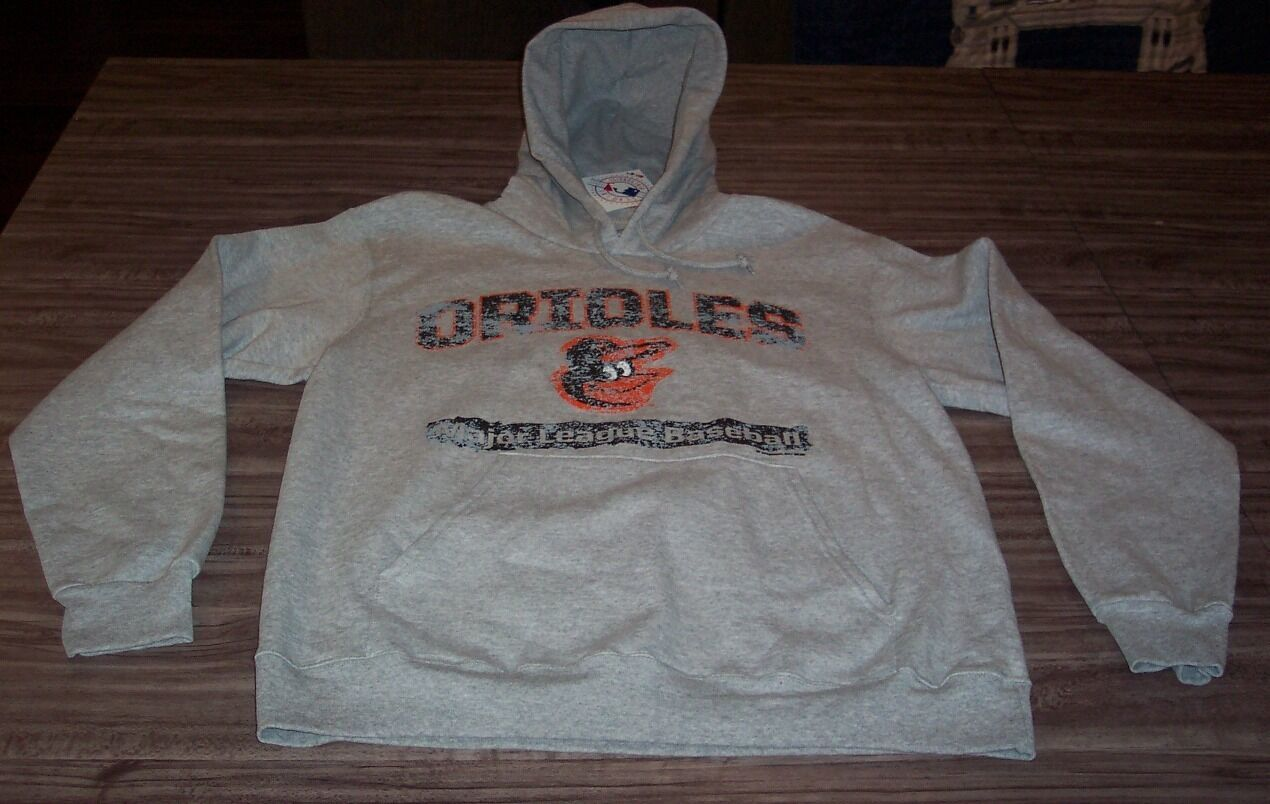 Primary image for VINTAGE STYLE BALTIMORE ORIOLES MLB BASEBALL HOODIE SWEATSHIRT MEDIUM NEW w/ TAG