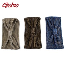 Geebro Women's Metallic Color Wide Striped Headbands Fashion Corss Knotted - €8,31 EUR