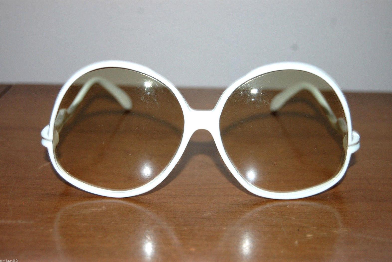 7ce221dee5 S l1600. S l1600. Previous. vintage white round oversize sunglasses mid  century midcentury Safilo Jamaica