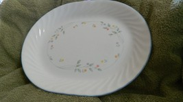 Corelle English Meadow 12.25 Inch Oval Serving Platter Free Usa Shipping - $23.36