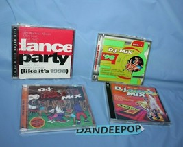 5 Assorted DJ Dance Disco Party Music CD's - $39.59