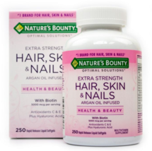 Nature's Bounty Optimal Solutions Extra Strength Hair, Skin & Nails 250's - $98.00