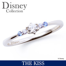 Disney × THE KISS  Princess Cinderella Sterling Silver 925 Ring 4 6 7 FS Japan - $157.00