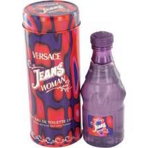 Versace Jeans Woman Perfume 2.5 Oz Eau De Toilette Spray image 3