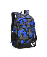 boy school students USB charging port fashion computer backpack - $29.00