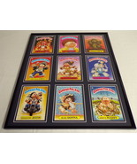 Garbage Pail Kids Framed 16x20 Display Mad Donna Dirty Harry Cracker Jack - $74.44
