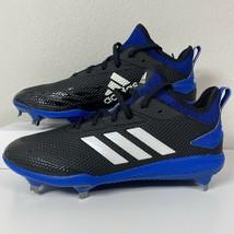 Adidas Adizero Afterburner V Mens Baseball Cleats Shoes Size 9.5 CG5216 Black - $65.44