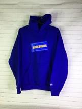 Dumbgood Blockbuster Logo Hit Pullover Hoodie Hooded Sweatshirt Blue Men... - $54.45