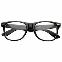 Fashion Retro Unisex Mens Womens Clear Lens Vintage  Nerd Geek Glasses E... - $5.93