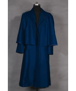 Dark Shadows 2012 Barnabas Collins Johnny Depp Blue Coat Cape Costume - $73.87