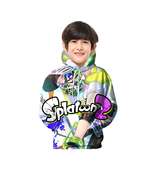Splatoon 2 Unisex Kid Pullover Hoodie Fleece Play December Series - $24.99