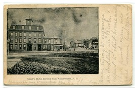 Grant's Hotel Berwick Side Somersworth New Hampshire 1905 PMC postcard - $6.88