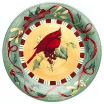 Lenox Winter Greetings Everyday Stoneware Cardinal Bird Dinner Plate - $19.90