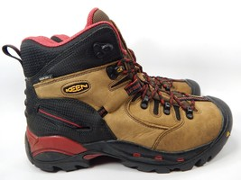 """Keen Pittsburgh 6"""" Steel Toe Men's Work Boots Shoes Size US 10 M (D) EU 43 Brown"""
